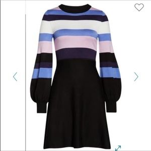 NWT Vince Camuto striped sweater dress